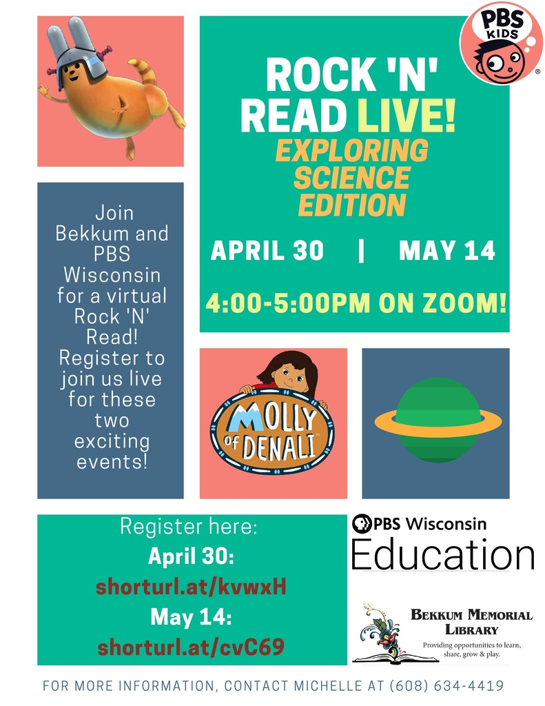 Rock 'N Read Live: Science Edition